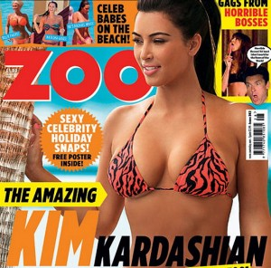 Kim Kardashian covers ZOO Magazine