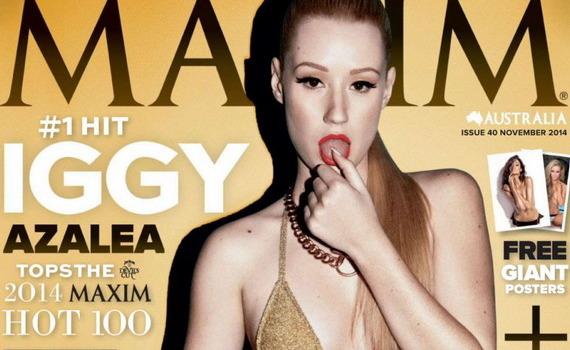 Iggy Azalea - Hot 100 - Maxim magazine