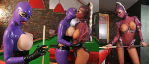 Latex Lucy & Black Angelica – Lusty Latex Ladies